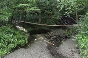 DIY การทำสะพานเชือก