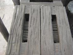 ระแนงเทียม ระแนงลายไม้