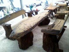 ชุดโต๊ะไม้ใหญ่ 5-10 คน