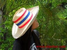 หมวกแฟชั่น สานไม้ไผ่ ใบลาน