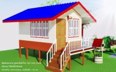 บ้านน็อคดาวน์ราคาถูก ขนาด3x4.2เมตรราคาแสน