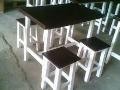 โต๊ะไม้60*90*75