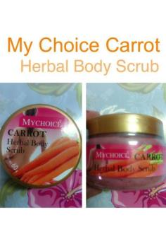 My Choice Carrot Herbal Body Scrub