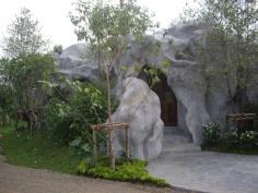 แบบบ้านถ้ำหินเทียม