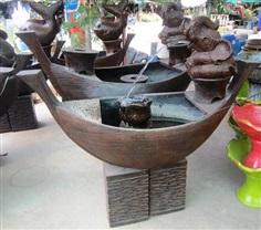 น้ำพุช้างนั่งเรือ(ราคาไม่รวมปั้มน้ำ)