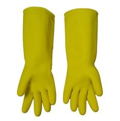 ถุงมือยางชนิดหนา สีเหลือง เบอร์ 10 (Y-10)