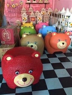 เก้าอี้รูปหมีน่ารัก