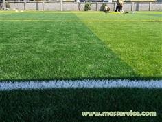 รับทำเส้นสนาม แบ่งสนามฟุตบอลหญ้าเทียม