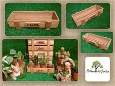 กล่อง/กระบะไม้สัก Size M งาน Handmade