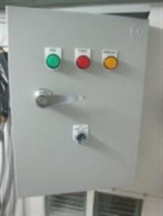 ตู้ควบคุมปั๊มน้ำ เปิดปิดด้วยสวิตซ์ลูกลอย up to 3 HP 220 V