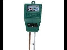 เครื่องวัดความชื้นในดินและpH