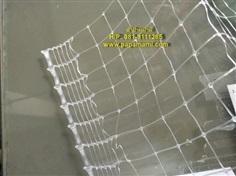 ตาข่ายพลาสติกPP 1ม.x30ม. ใส ช่อง 6 หุน