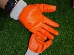 ถุงมือผ้าเคลือบยางคุณภาพดีหยิบจับของติดมือง่าย