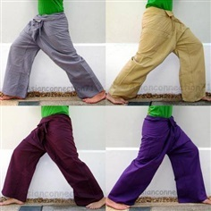 กางเกงเล กางเกงสะดอ กางเกงผ้าฝ้าย เชียงใหม่
