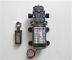 ปั๊มน้ำแรงดันสูง DC24V 11 bar 8L/min (Return valve)