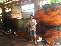 มะค่ากว้าง150หนา4นิ้วยาว5เมตร