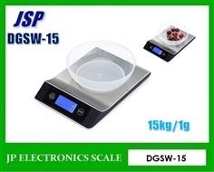 เครื่องชั่งตั้งโต๊ะ15kg ละเอียด1g ยี่ห้อ JSP รุ่น GDSW-15