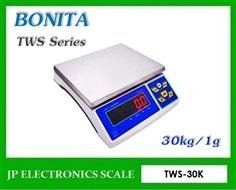 ตาชั่งดิจิตอล30kg ละเอียด1g ยี่ห้อ BONITA รุ่น TWS-30K