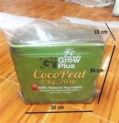 COCO PEAT บุยมะพร้าวอัดก้อน ขนาด 5 kg.