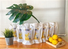 น้ำเลมอนคั้นสด 100% (Frozen Lemon Juice) ขนาดบรรจุ1,000มล