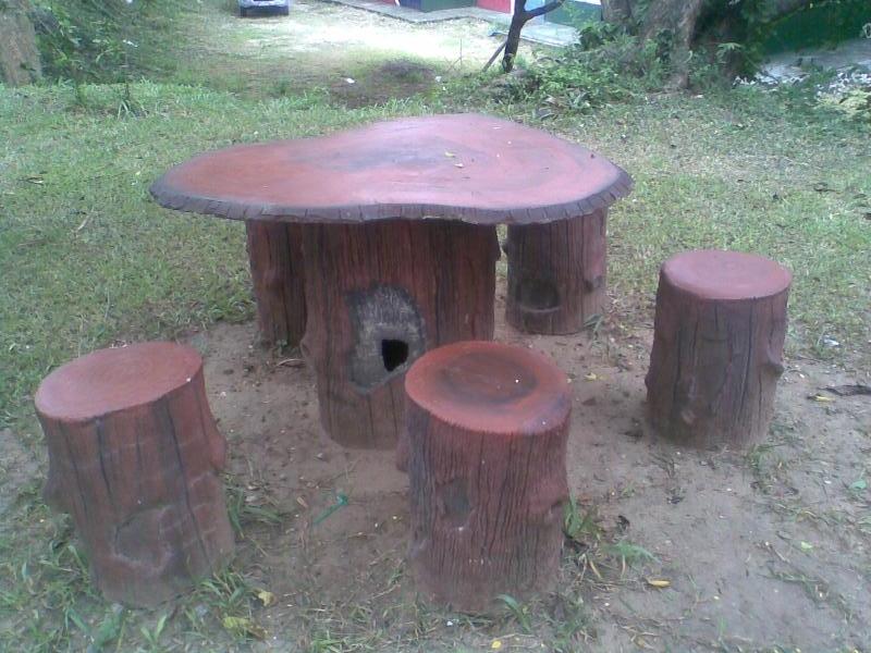 โต๊ะสนาม,งานละเอียด,ต้นไม้ประดิษฐ์