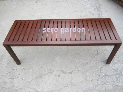 เก้าอี้สนาม ม้านั่งสนาม ขนาดยาว120xกว้าง45xสูง45 ซม.