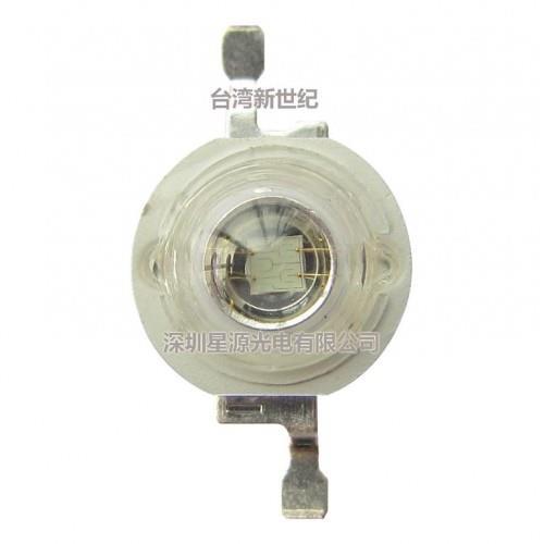 LED High Power 1W แสงสีน้ำเงิน 460-465nm