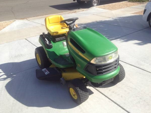 รถตัดหญ้าแบบนั่งขับ John Deere Craftsman มือสองจากนอก สภาพสวย