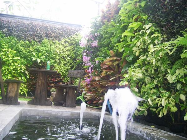 สวนแนวตั้ง (Vertical Garden)