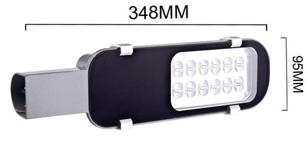 โคมไฟถนนแอลอีดี 12W 220V แสงสีขาว ราคา 890 บาท ฟรี EMS