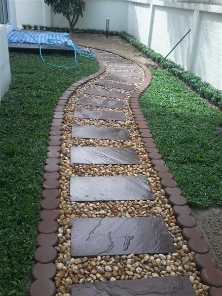 ออกแบบจัดสวนในโครงการบ้านจัดสรร ทั้งในกรุงเทพและปริฆณฑล