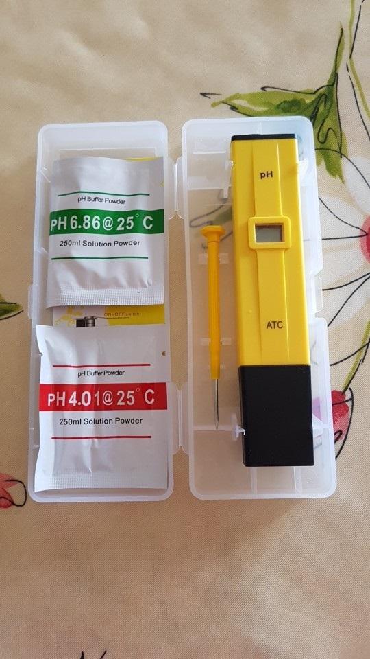 เครื่องวัดกรด ด่างแบบปากกา (pH meter)