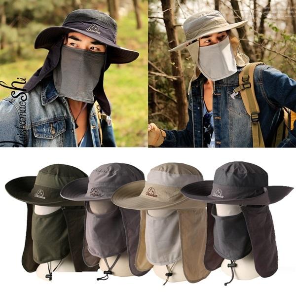 หมวกคลุมหน้า หมวกคลุมกันแดด