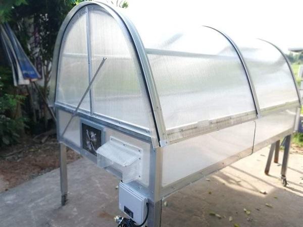 สุดยอดนวัตกรรม ตู้อบพลังงานแสงอาทิตย์ทีใช้ไฟฟ้าได้ด้วย