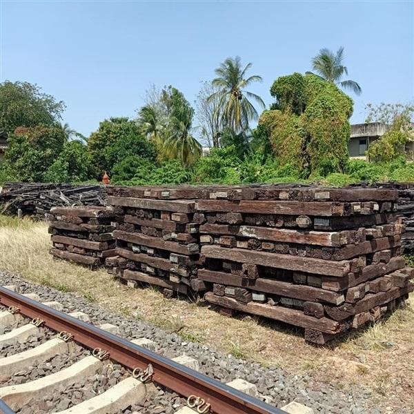 ไม้หมอนรถไฟราคาถูก