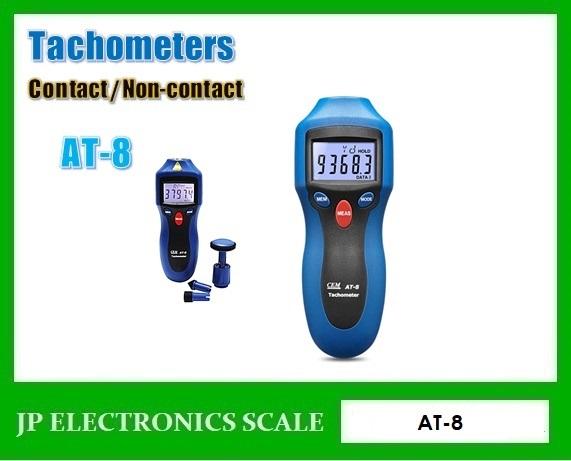 เครื่องวัดความเร็วรอบ AT-8 Digital Contact / Non-contact
