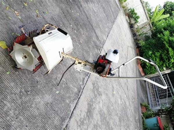 ขายเครื่องกำจัดวัชพืชในนาข้าว พรวนดินร่องนา