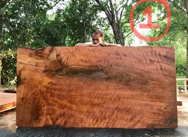 โต๊ะไม้มะค่าแผ่นใหญ่,,ไม้มะค่า