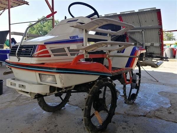 ขายรถดำนาคูโบต้ารถปลูกข้าวkubotaนั่งขับ