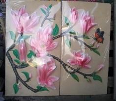 ดอกจำปีสีชมพู