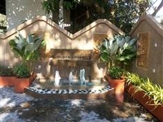 น้ำพุในสวน/ บ้านระบบไฟส่องน้ำพุ