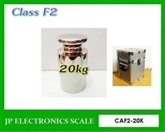 ลูกตุ้มน้ำหนักมาตรฐาน สแตนเลส Class F2 Class F2 น้ำหนัก20kg