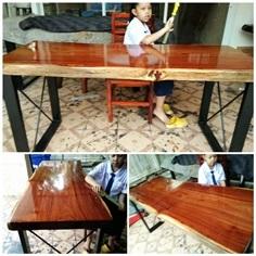 ***ขายแล้ว***  โต๊ะไม้ประดู่ 1.6 m.